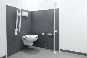 Disabled and wet room flooring