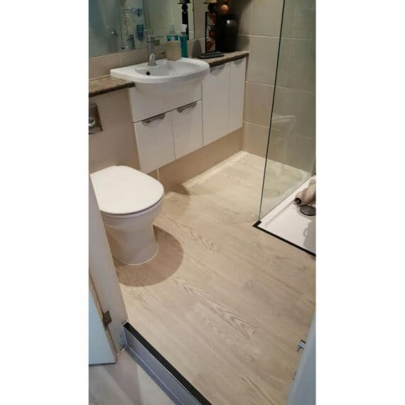 Altro Wood Safety installed - Bathroom - Kent