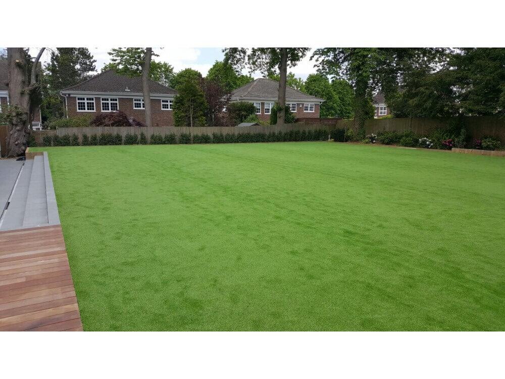 Artificial Grass - Garden, Keston, Kent 2