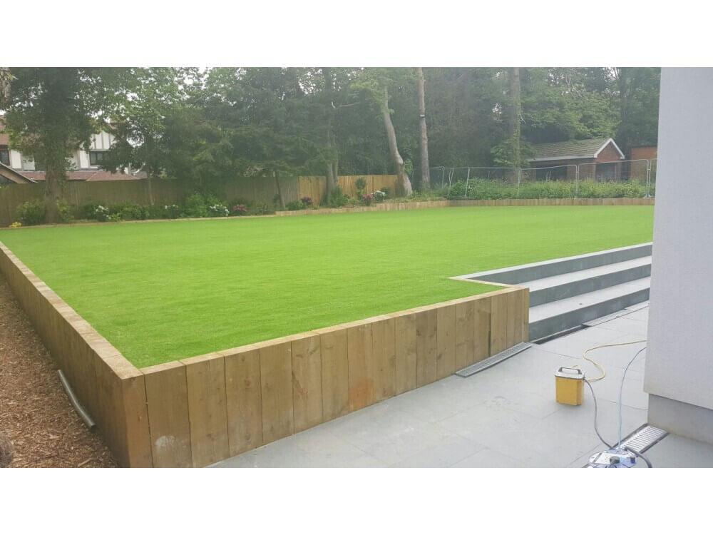 Artificial Grass - Garden, Keston, Kent 4
