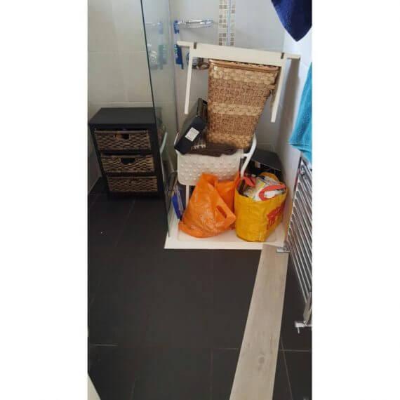 Bathroom before installation - Kent