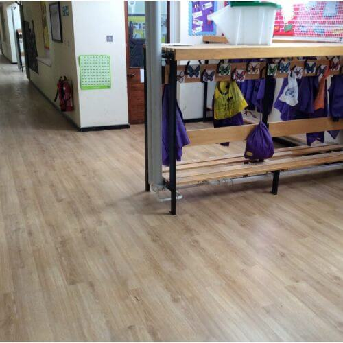 Corridor Installation Completed