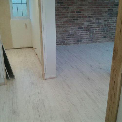 Creation 55 - Woodplank Vinyl Completed Installation - Orpington, Kent