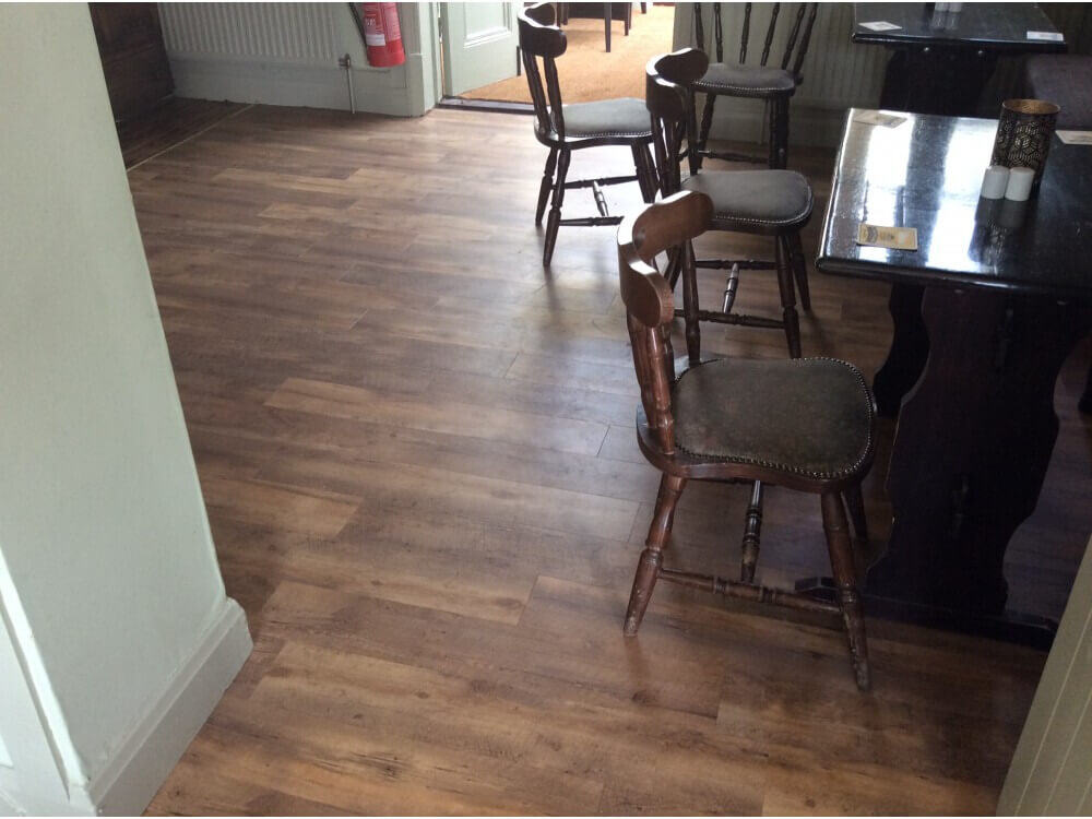 Creation 55 woodplank installed - Farnborough, Kent