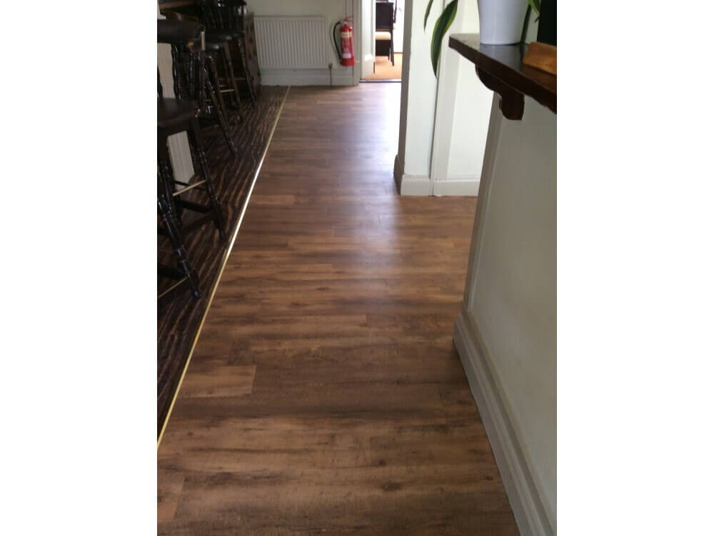 Creation 55 woodplank vinyl installed - Farnborough, Kent 4