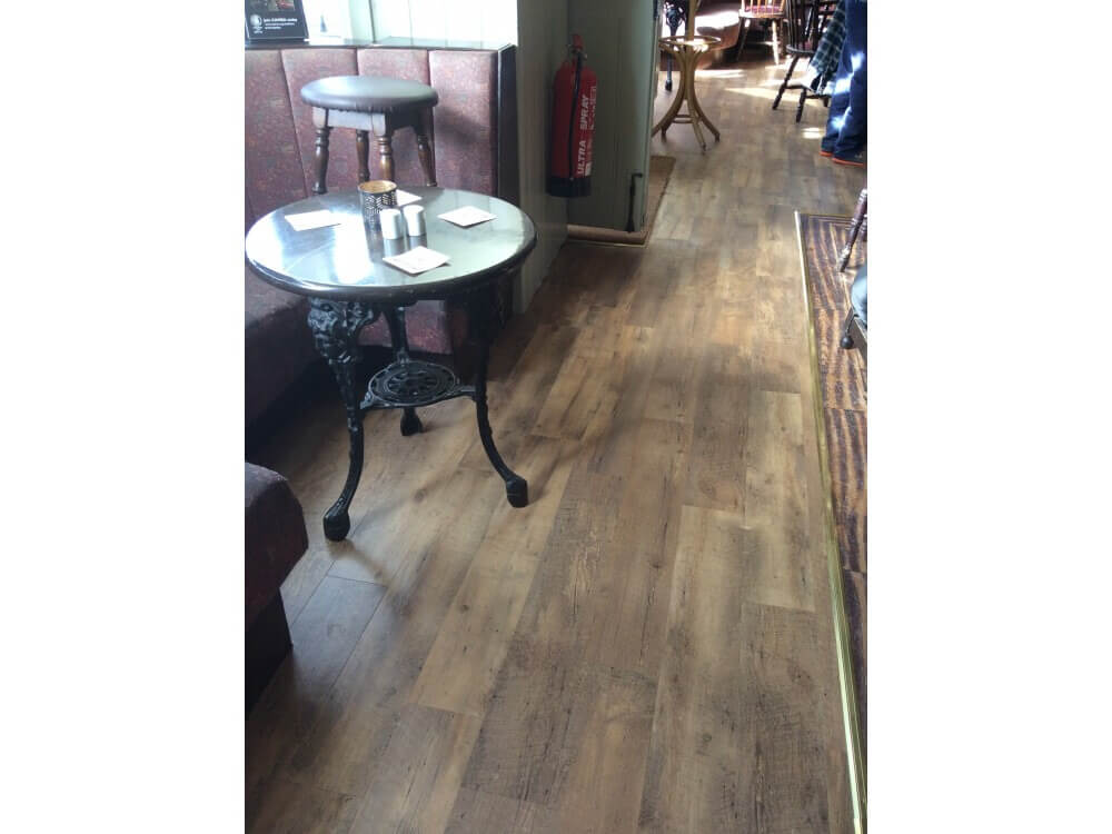 Creation 55 woodplank vinyl installed - Farnborough, Kent