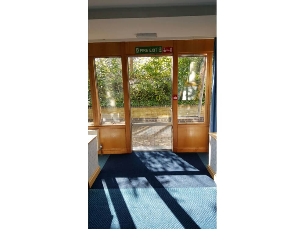 Entrance Matting joined to customers own carpet - Gillingham, Kent 2