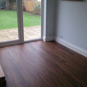 Karndean Loose Lay Plank Installation - Keston, Kent 3