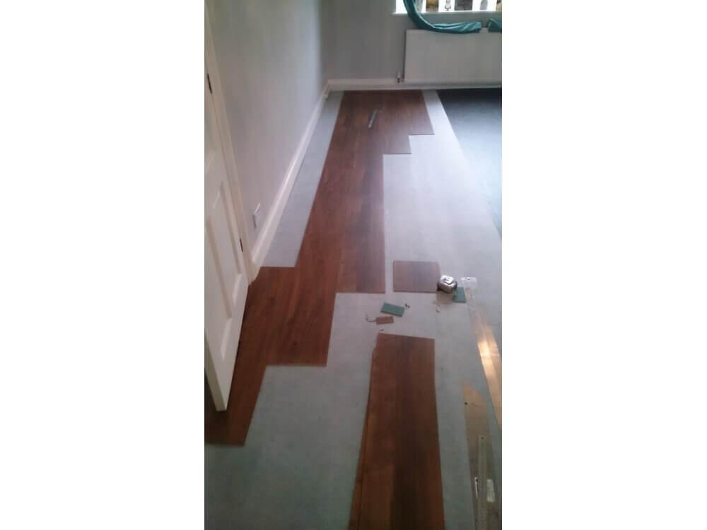 Karndean Loose Lay Plank Installation - Keston, Kent 4