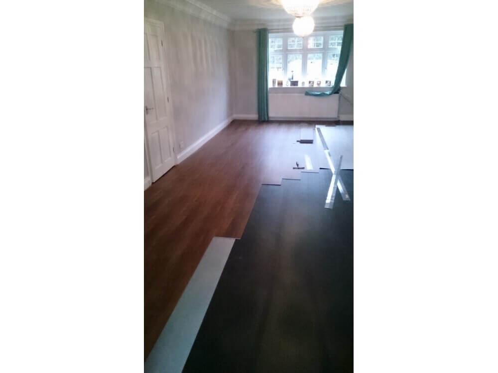 Karndean Loose Lay Plank Installation - Keston, Kent 5