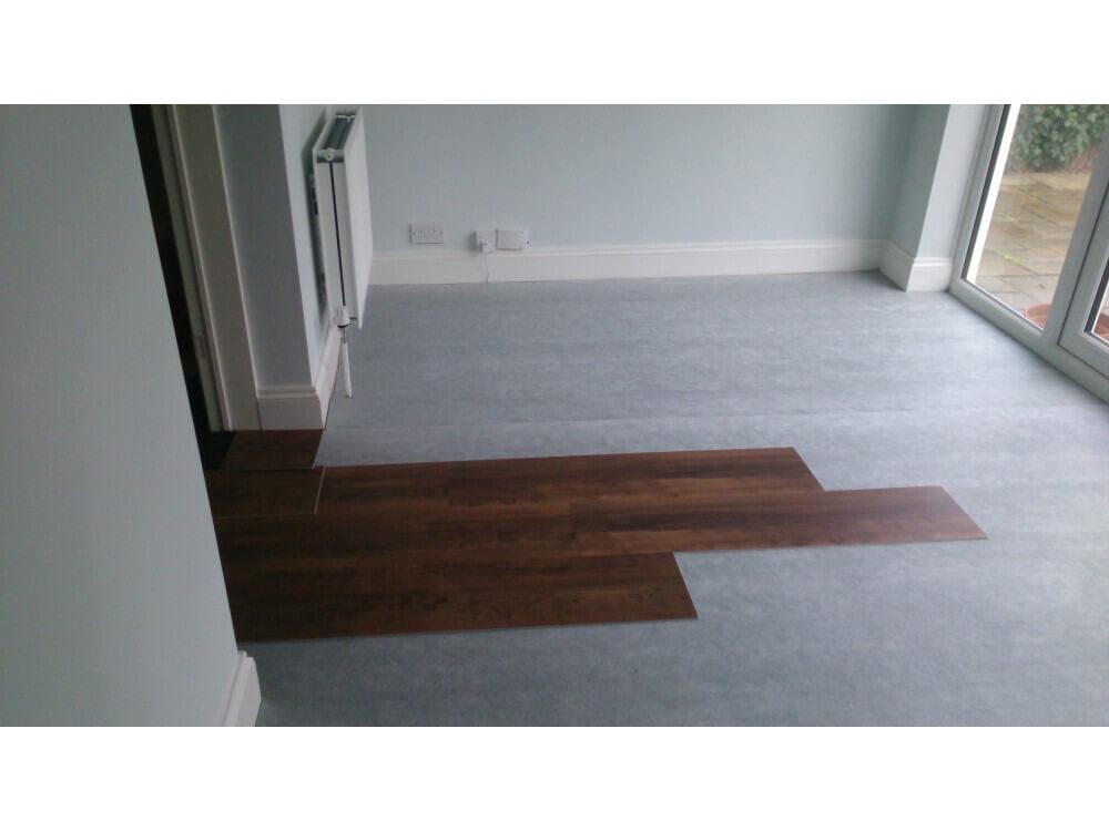 Karndean Loose Lay Plank Installation - Keston, Kent 7