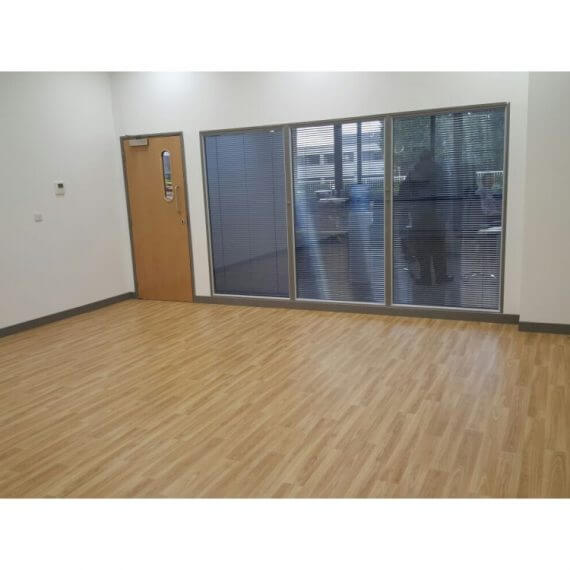 Polyflor Forest Fx sheet vinyl - Office - Crawley, West Sussex 2