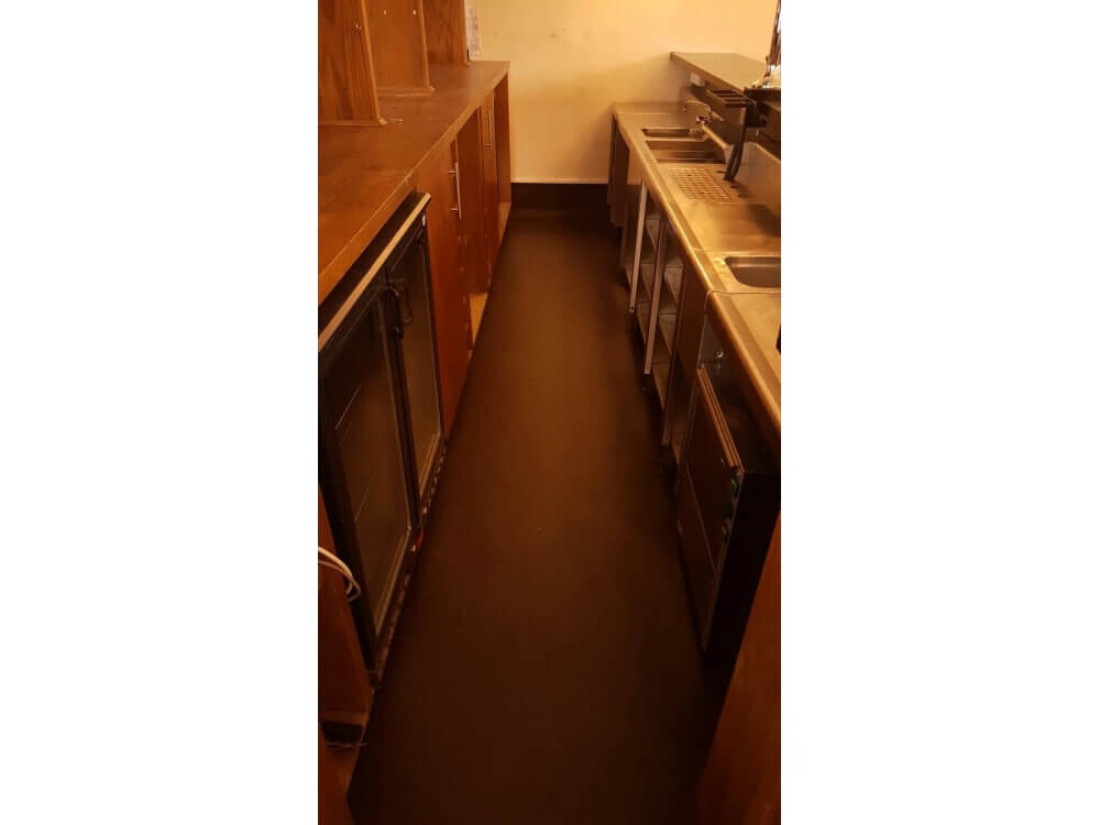 Polysafe Standard - Flooring completed