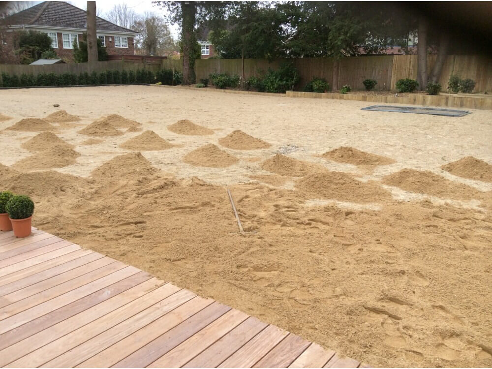 Preparation - Garden, Keston, Kent 2