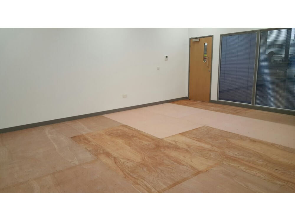 Sub-floor Preparation - Office - Crawley, West Sussex