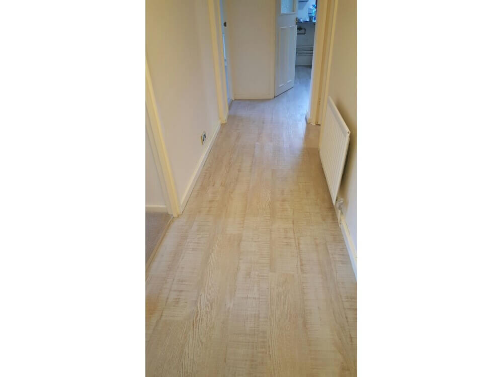 Woodplank vinyl installed - Bromley, Kent 2