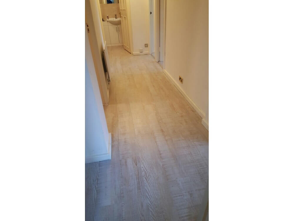Woodplank vinyl installed - Bromley, Kent 3