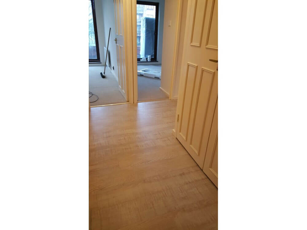 Woodplank vinyl installed - Bromley, Kent