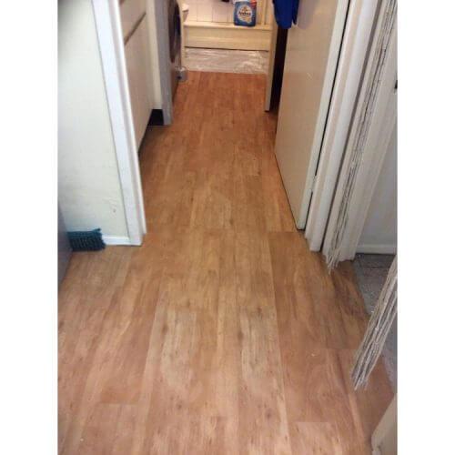 Woodplank vinyl installed - Orpington, Kent 2