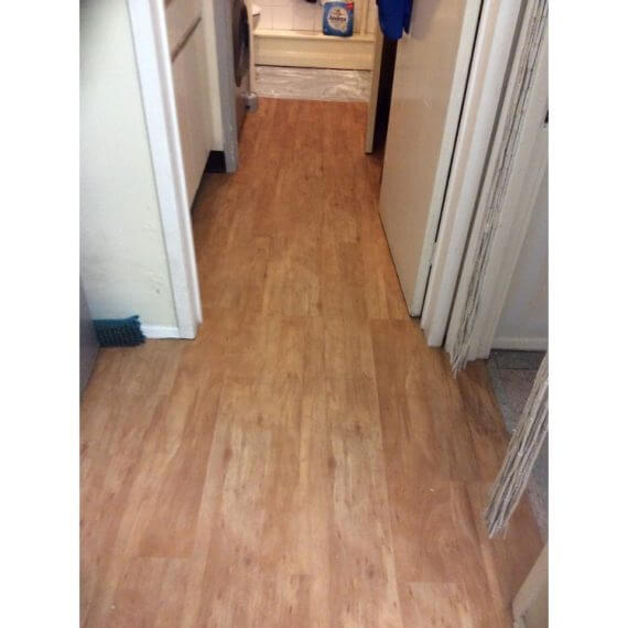 Woodplank vinyl installed - Orpington, Kent 2