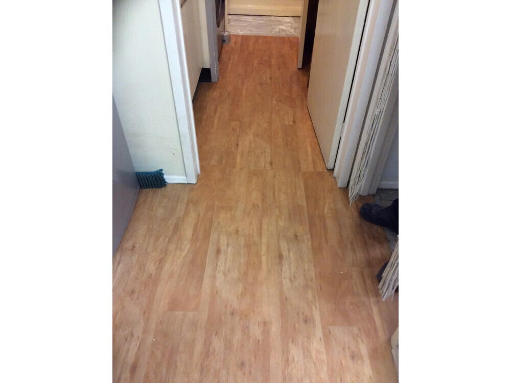 Woodplank vinyl installed - Orpington, Kent