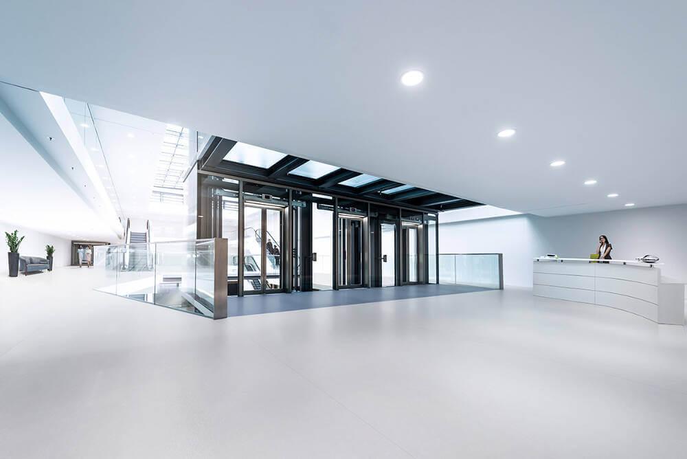 Contractor Safe Altro Operetta Lifts Reception