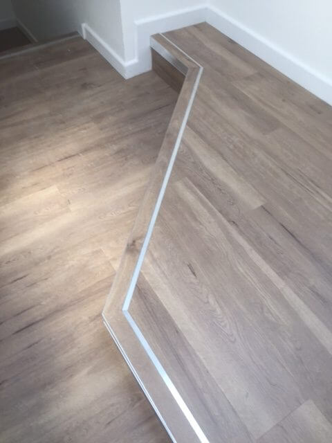 Langford Russell - Sub floor preparation / Amtico / Karndean and Stair Nosings