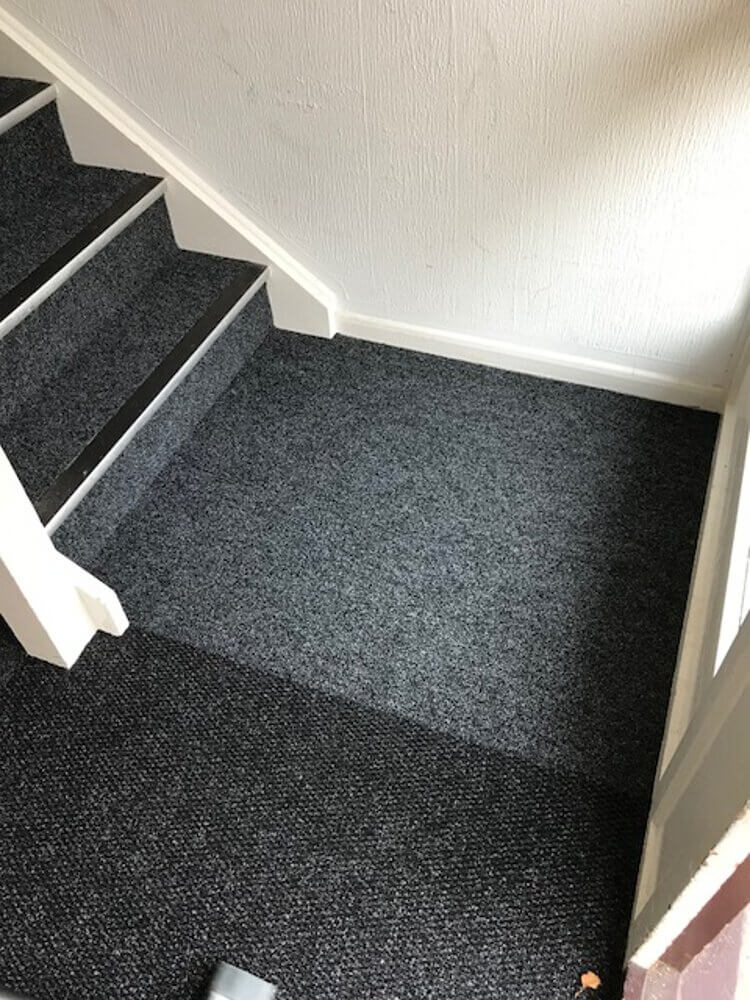 Communal hall carpet installed by Easifit Carpets