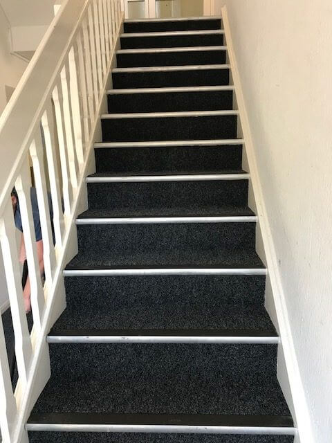 Communal Hall Amp Stairs Fitted With Rawsons Eurocord With