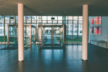 Entrance hall matting