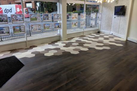 Commercial flooring karndean